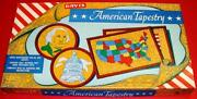 Vintage 1950's 60's American Tapestry Set Yarn Kit Mib Old Store Stock Nos