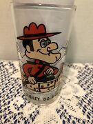 Vintage 1970s Dudley-do-right Pepsi Collector Glass Pat-ward 5 1/4
