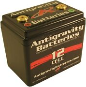 Antigravity Batteries Ag1201 Lightweight Lithium Motorcycle Battery 360cca 12ah
