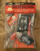 Paladin Official Set Case With Calling Cards Derringer Wrist Holster Nos Wow