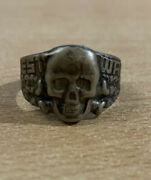 Bague Argent West Wall Ring Allemagne Rare