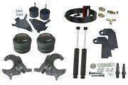 1982 - 2005 S10 Front Weld On Air Ride Suspension Kit Spindles Shock Relocate