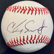 Vary Rare Chad Smith Drummer Andldquored Hot Chili Peppersandrdquo Signed Autographed Baseball