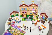 Lego Friends Summer Riding Camp 3185 With Manuals Rare