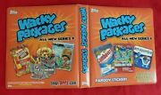 2012 Topps Wacky Packages Ans9 Official Orange Binder  @@ Rare @@