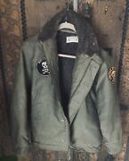 Rare Vintage 1940's Us Navy N-1 Deck Jacket/w/ Patches Size 42 Outerwear