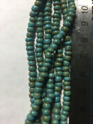 Czech 6/0 Stripe Picasso Seed Beads