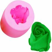 Rose Resin Silicone Mold Fondant Chocolate Candy Clay Plaster Candle Soap Moulds
