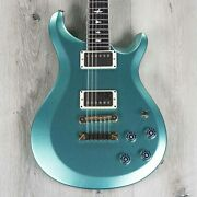 Prs Paul Reed Smith S2 Mccarty 594 Thinline Guitar Rosewood Frost Green Metallic