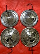 1957 Chevy Bel Air Nomad 14 Wheel Covers Hubcaps Set Of 4 Look