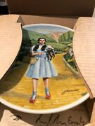 Knowles Vintage Wizard Of Oz Collectible Plates Andndash Full Set