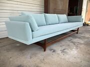Newly Reupholstered Vintage Mcm Adrian Pearsall Style Craft Associates 108andrdquo Sofa