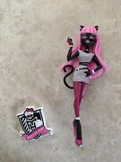 Monster High Doll Catty Noir Mail Away In Figure Import Ultra Rare Lot