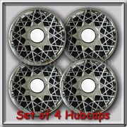 4 16 Ford Crown Victoria Hubcaps 2001-2002 Ford Crown Vic Police Wheel Covers