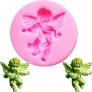 Angel Fairy Uv Resin Silicone Mold Fondant Chocolate Candy Clay Bake Tools Mould