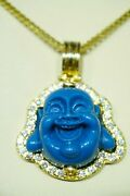 Pendant Buddha 100 Real Gold And Diamond Weight 12,22 Gr