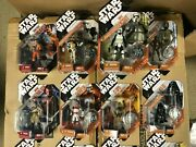 Choose Star Wars 30th Anniversary And Legacy Collection Action Figures Case Fresh