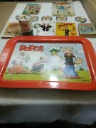 Lot Of Popeye Cartoon Character Collectables
