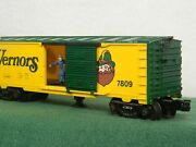 Lionel 6-7809 Vernors Ginger Ale Box Car Customized Operating W/dc Trucks Boxed