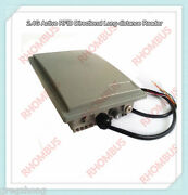 2.4g Active Microwave Rfid Range Up To 25m Wg26 Parking Lot Reader W/2 Pcs Cards