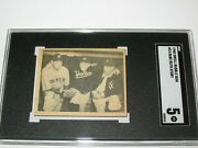 1948 Swell Gum The Babe Ruth Story 24 Sgc 5 Ex In The Making