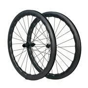700c Wheelset Bws Road Disc Carbon Wheels Center Lock /6 Bolt Hub 50mm27 Width