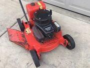 Jacobsen Commercial 2 Cycle Lawn Mower With Subaru Engine