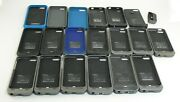 Lot Of 19 Various Iphone 4 5 6 Case Morphie Jucie Battery Smo 613127