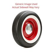 235/75r15 Premium Auburn Tire With 3 White Wall - Modified Sidewall 1 Tire