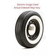 235/85r16 Un203 Mastertack Tire With 3.5 White Wall - Modified Sidewall 1 Tire