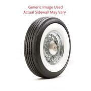 820r15 Deluxe Auburn Tire With 3.75 White Wall - Modified Sidewall 1 Tire