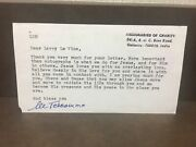Mother Teresa Signed Letter 100 Authentic Signature Rare Wow