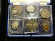 1951 Proof Set South Africa 9 Coins