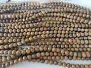 7 Strand Natural Mariam Jasper Round Smooth 8mm Gemstone Loose Beads 10inch