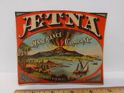 Lithograph From Aetna Insurance Company Calendar By Bingham And Dodd, 1878
