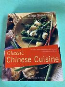 Vintage 1994 Classic Chinese Cuisine Cookbook Cooking Recipes Cook Book