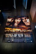 Gangs Of New York 4x6 Ft French Grande Movie Poster Original 2002