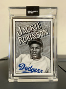 Topps Project 2020 79 1952 Jackie Robinson By Mister Cartoon Artist Proof 20/20
