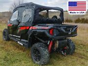 Doors And Rear Window For Polaris General 4 - Crew - 1000 - Xp - Soft Material