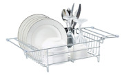 Over The Sink Dish Drying Rack Drainer Drain Strainer Countertop Counter Storage