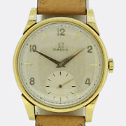 Vintage Omega 18ct Yellow Gold Gents Watch