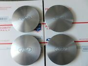 1985-19861991-1993 Mustang Pony Wheel 6.75 Silver Center Caps W/ford Set Of 4
