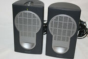 Philips Mms 121/17 Multimedia Stereo Speakers W Power Cord And 3.5mm Jack Plug