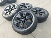 22 Ford F-150 Expedition Limited Oem Black Rims Wheel 2018 2019 2020 2021 10064