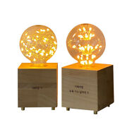 [modern Point] Built-in Ballast Lamp Led Wood Carving Mood Lamp - 2 Types