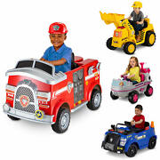 Nickelodeonand039s Paw Patrol Marshall Rescue Fire Truck Ride-on Toy By Kid Trax