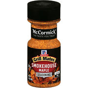 Mccormick Grill Mates Smokehouse Maple 3.5 Oz Pack Of 2