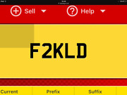 Great Investment F2 Kld Plate On Retention Ready To Go On Vehicle