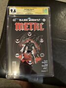 Dark Nights Metal 1 Cgc Ss Sketch Cover Signed By Capullo And Snyder
