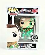 Jason David Frank Autograph Funko Pop Power Ranger Tommy Signed Jsa Coa